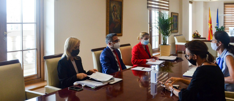 Средба Бесими - Холстеин: Германија - наш посветен партнер на патот кон остварување на европските вредности и стандарди