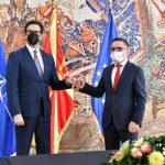 Средба на министерот Бесими со претседателот на државата Пендаровски