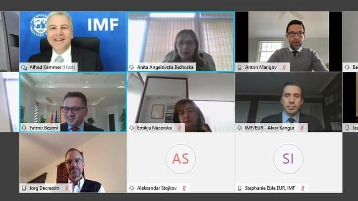 Состаноци со високи претставници на ММФ: Јакнењето на финансиската стабилност е од голема важност за закрепнувањето на македонск