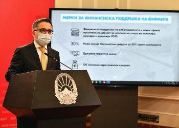 Бесими: Изготвени закони и дизајнирани 22 мерки од Четвртиот пакет што се во надлежност на Министерството за финансии